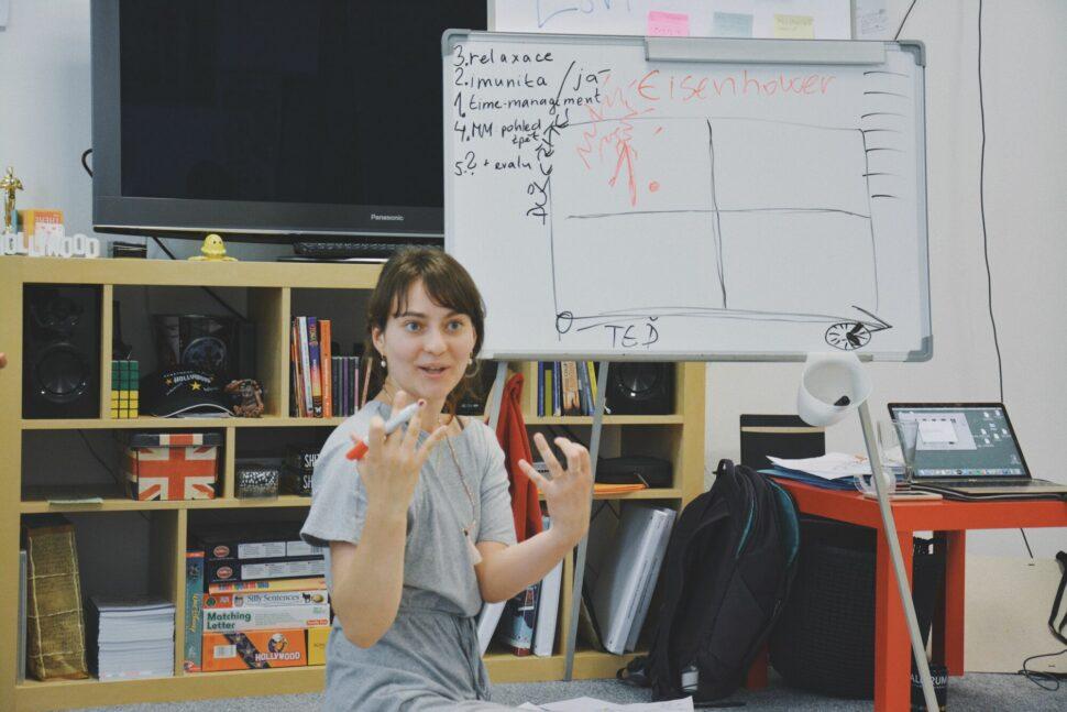 lektor kurzu myšlenkové mapování